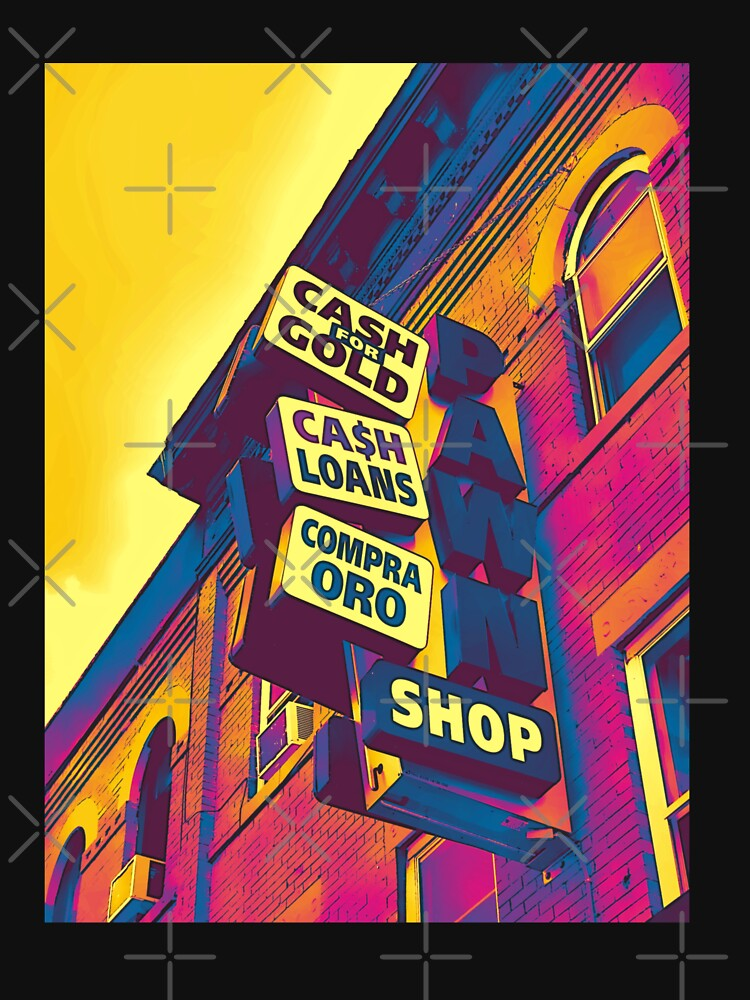 Cash for Gold - Bay Ridge Brooklyn Neon Pop Art - Urban Photography by OneDayArt
