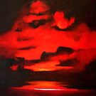 Red sky remembered by Tony Broadbent