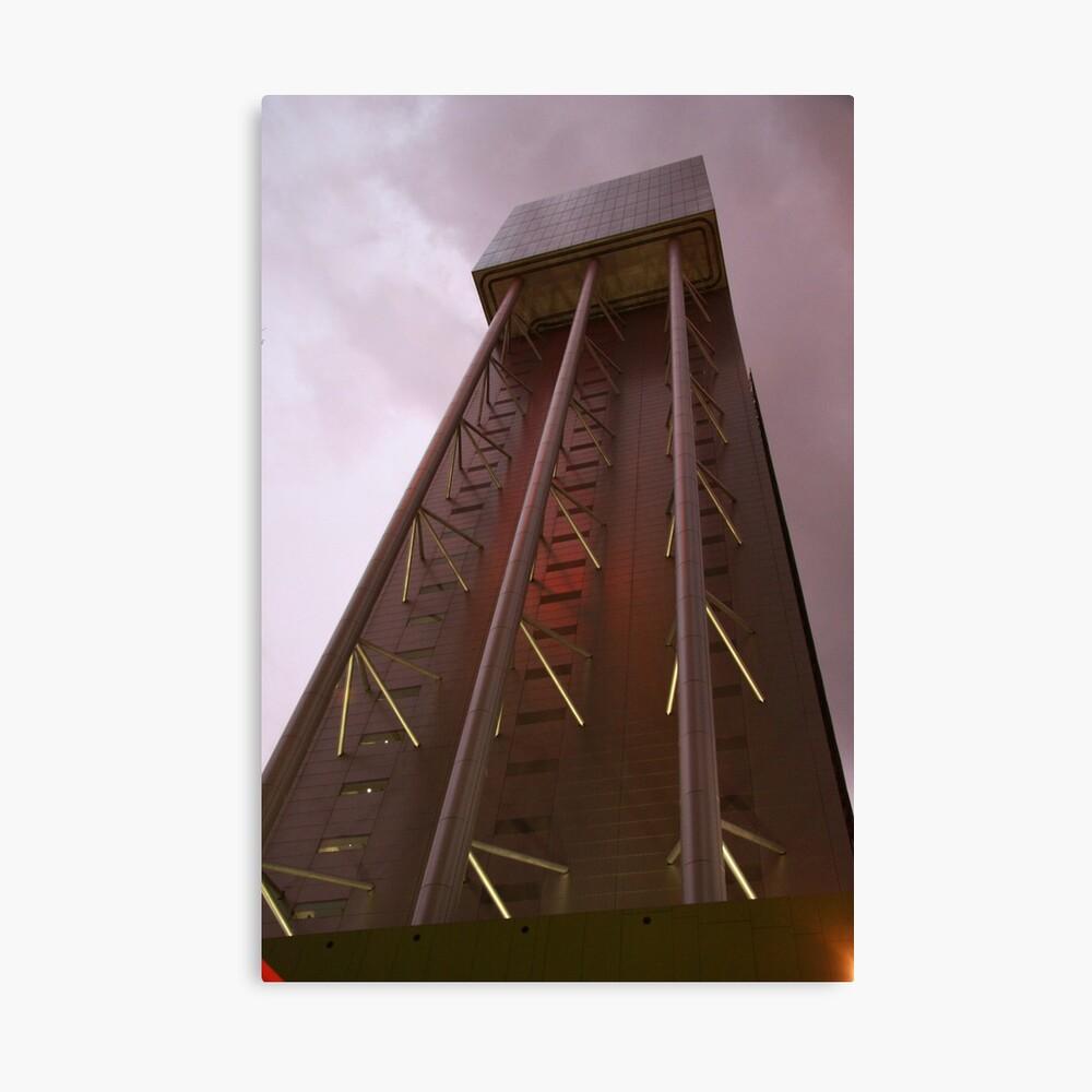 Architectural Impression Canvas Print