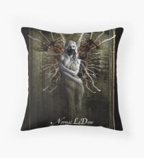 larvae Throw Pillow