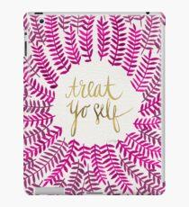 Treat Yo Self – Pink iPad Case/Skin