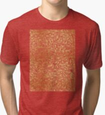 Knee-Deep in Gold Ink Tri-blend T-Shirt