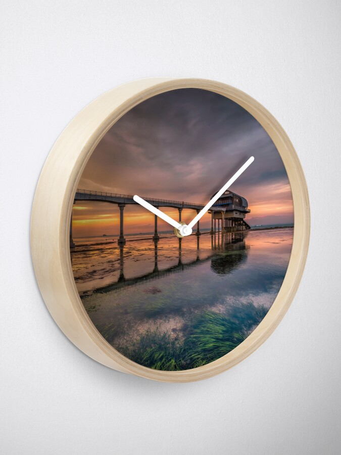 Alternate view of Bembridge Lifeboat Station Sunset Clock