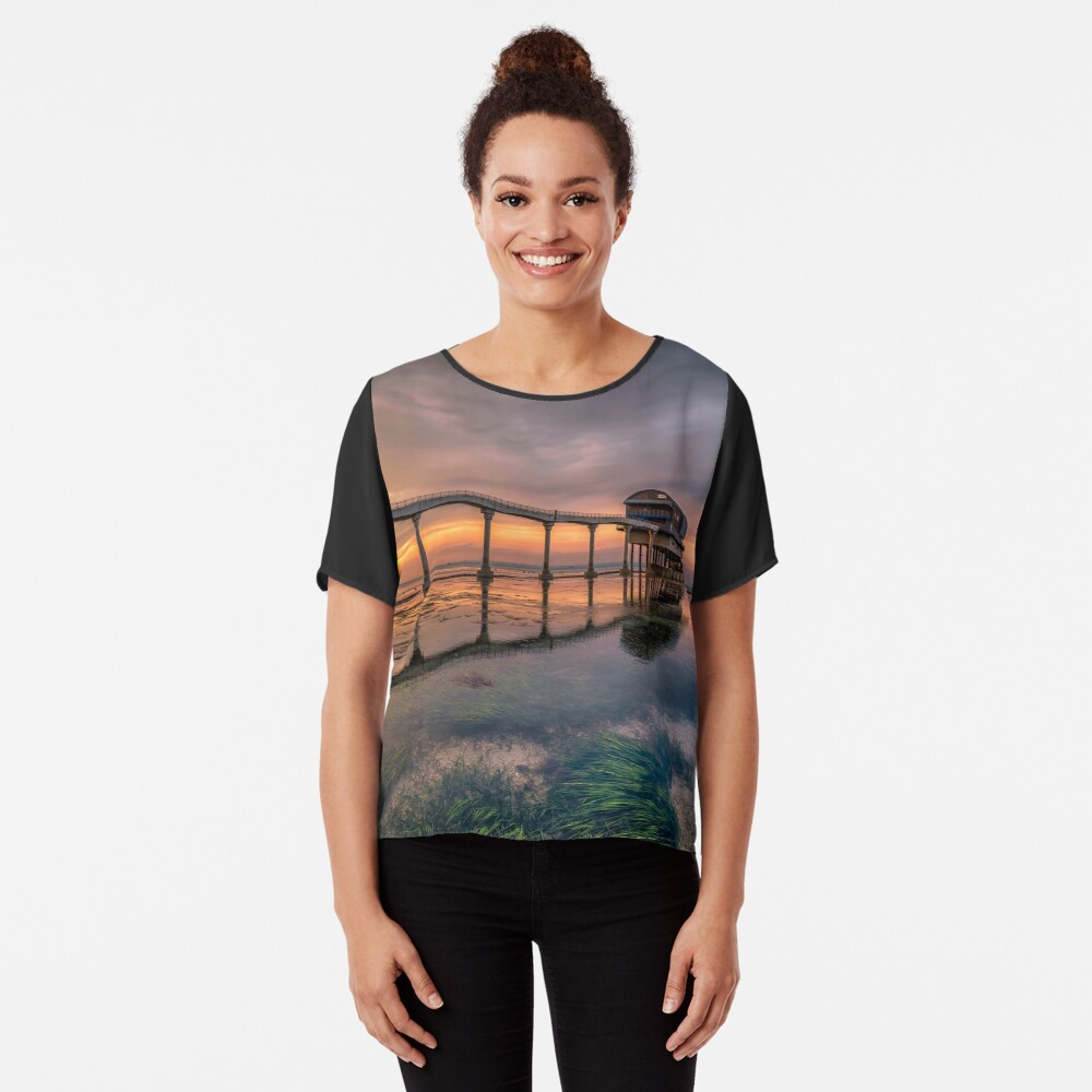 Bembridge Lifeboat Station Sunset Chiffon Top