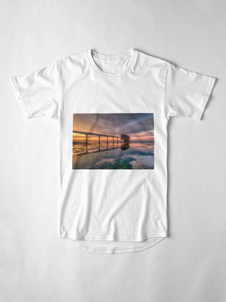 Alternate view of Bembridge Lifeboat Station Sunset Long T-Shirt