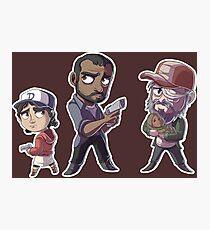 Walking Deads Sticker Sheet Photographic Print