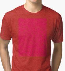 Knee-Deep in Pink Ink Tri-blend T-Shirt
