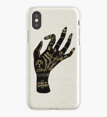 Palmistry iPhone Case/Skin