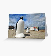Redcar Penguins Greeting Card