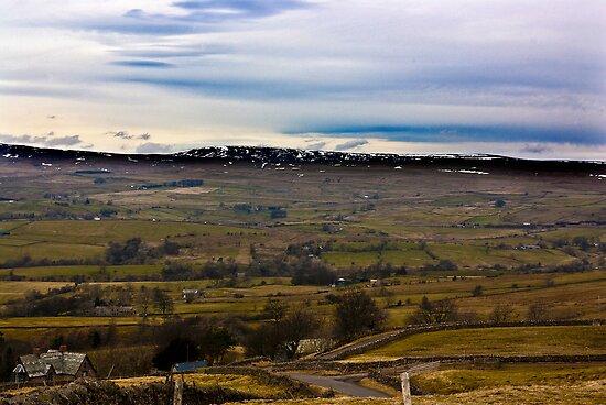 Looking Towards Winton Fell - Kirkby Stephen -Cumbria. by Trevor Kersley
