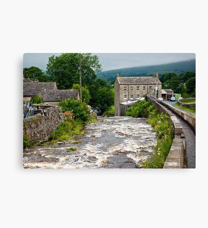 Gayle Mill - Hawes Canvas Print