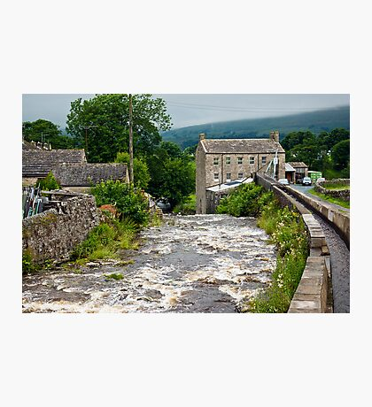 Gayle Mill - Hawes Photographic Print