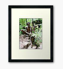Australian Aborigine Framed Print