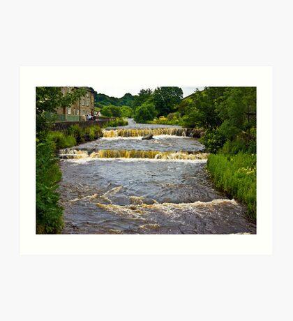 Gayle Mill Force (Gayle Beck) - Hawes Art Print