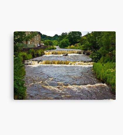 Gayle Mill Force (Gayle Beck) - Hawes Canvas Print