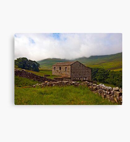 Dales Stone Barn Canvas Print