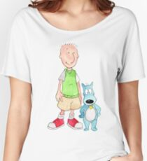 Doug and Porkchop Women's Relaxed Fit T-Shirt