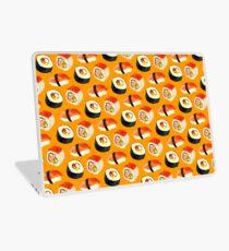 Sushi Pattern - Orange Laptop Skin