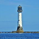 Bell Rock Lighthouse Arbroath Scotland  by FollowingTLites