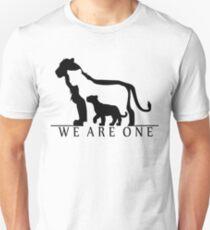 Lion Family (white version) Unisex T-Shirt