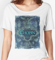 Frederick Chopin Blue Women's Relaxed Fit T-Shirt