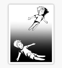 I Dreamt I Was Flying, In Reality I Was Falling Sticker