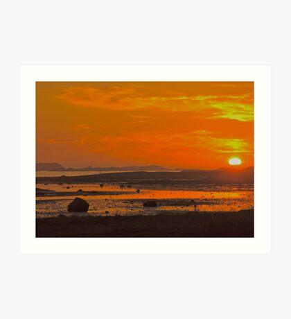 My love   -    N  O  R  W  A  Y . ( Lofoten islands). by Brown Sugar . F*** Favorites: 5 Views: 803 .Thank you friends !!! Art Print