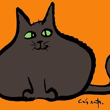 Fat Cat by Moppo