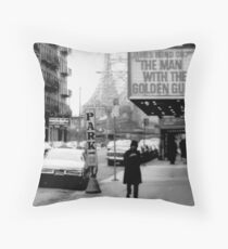 East 59th Street Twin Throw Pillow