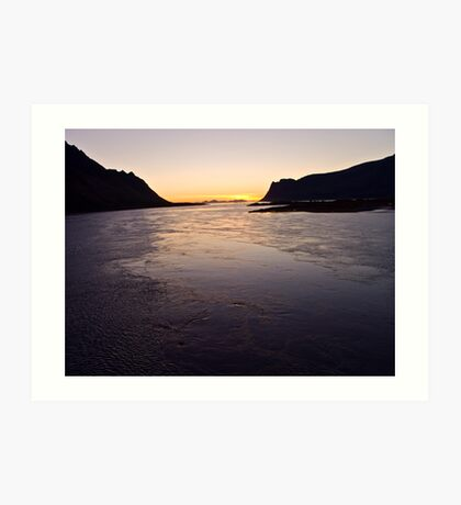 #######   ....Deep in my heart forever  !   ######   Lofots by night.    My Norway. by Brown Sugar . Views (240) Thanks so much !!! Art Print