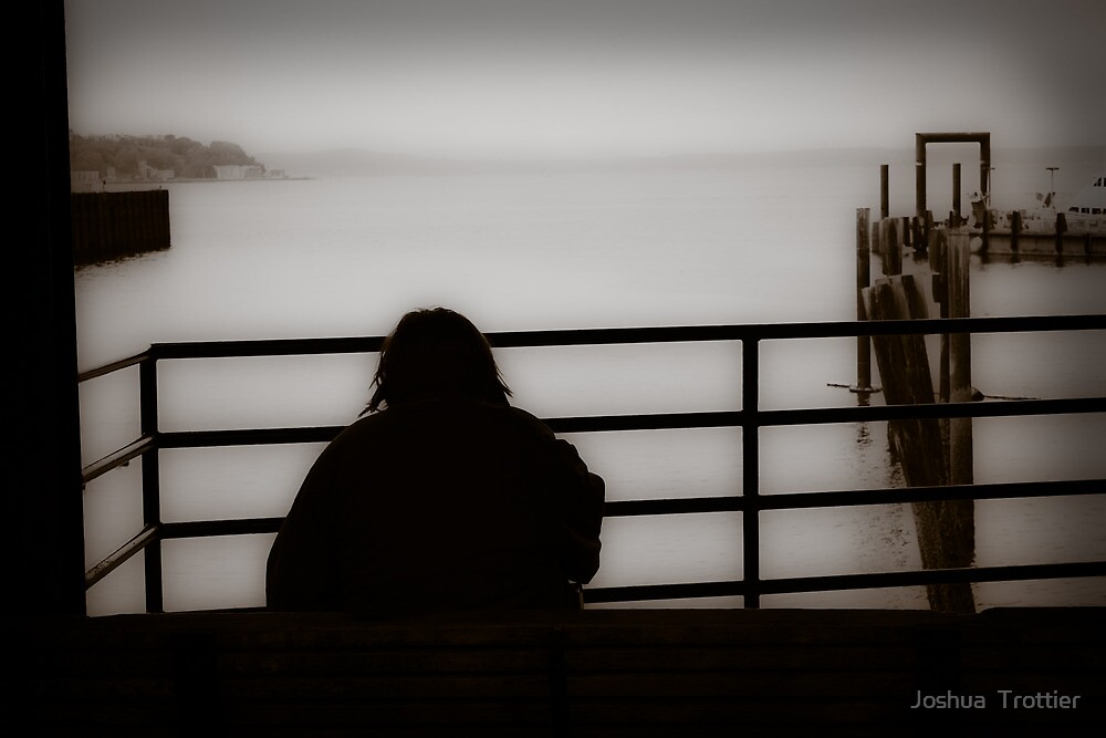 Looking out by Joshua  Trottier