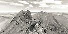 Corrag Bhuidhe Pinnacles, An Teallach by ScotLandscapes