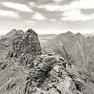 Corrag Bhuidhe Pinnacles, An Teallach by ScotLandscapes