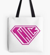 Thick SuperEmpowered (Pink) Tote Bag