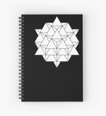 64 Tetrahedron Spiral Notebook