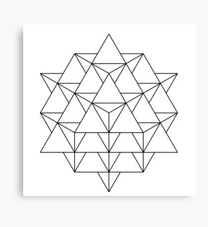 64 Tetrahedron Canvas Print