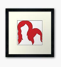 Red Heads Framed Print