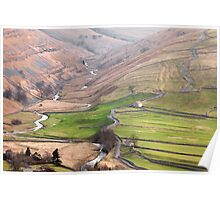 Cowside Beck & Brootes Lane Poster