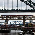 Newcastle Bridges by leizure
