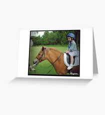 Pony Rides for Princesses Greeting Card