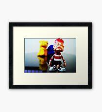 Toys Kids Framed Print