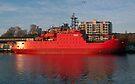 Tasmania - The Red Ship by Odille Esmonde-Morgan