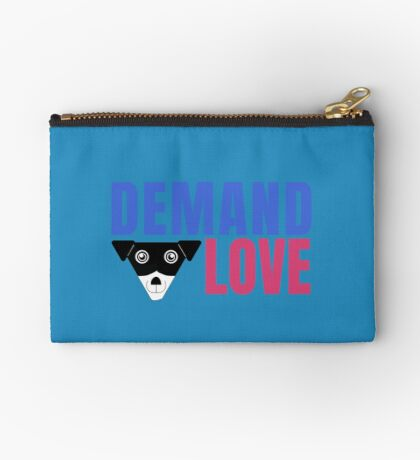 Carl Demands Love | Demand Love! Zipper Pouch