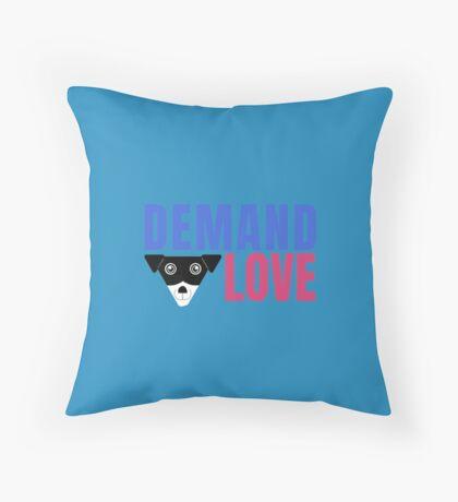 Carl Demands Love | Demand Love! Throw Pillow