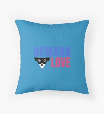 Carl Demands Love | Demand Love! Floor Pillow