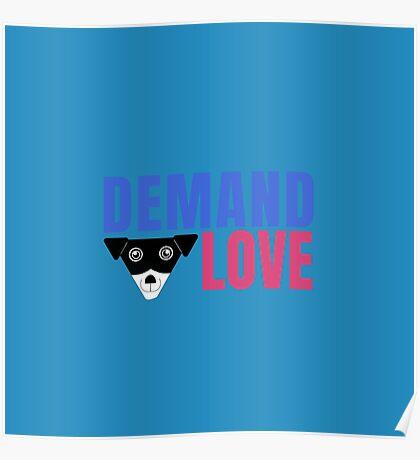 Carl Demands Love   Demand Love! Poster