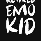 Emo Kid im Ruhestand von kjanedesigns