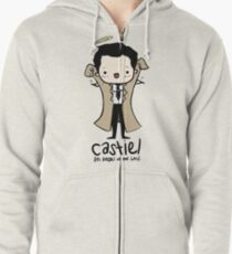 Castiel - Angel of the Lord Zipped Hoodie