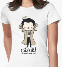 Castiel - Angel of the Lord Women's Fitted T-Shirt