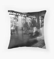 commuters Throw Pillow